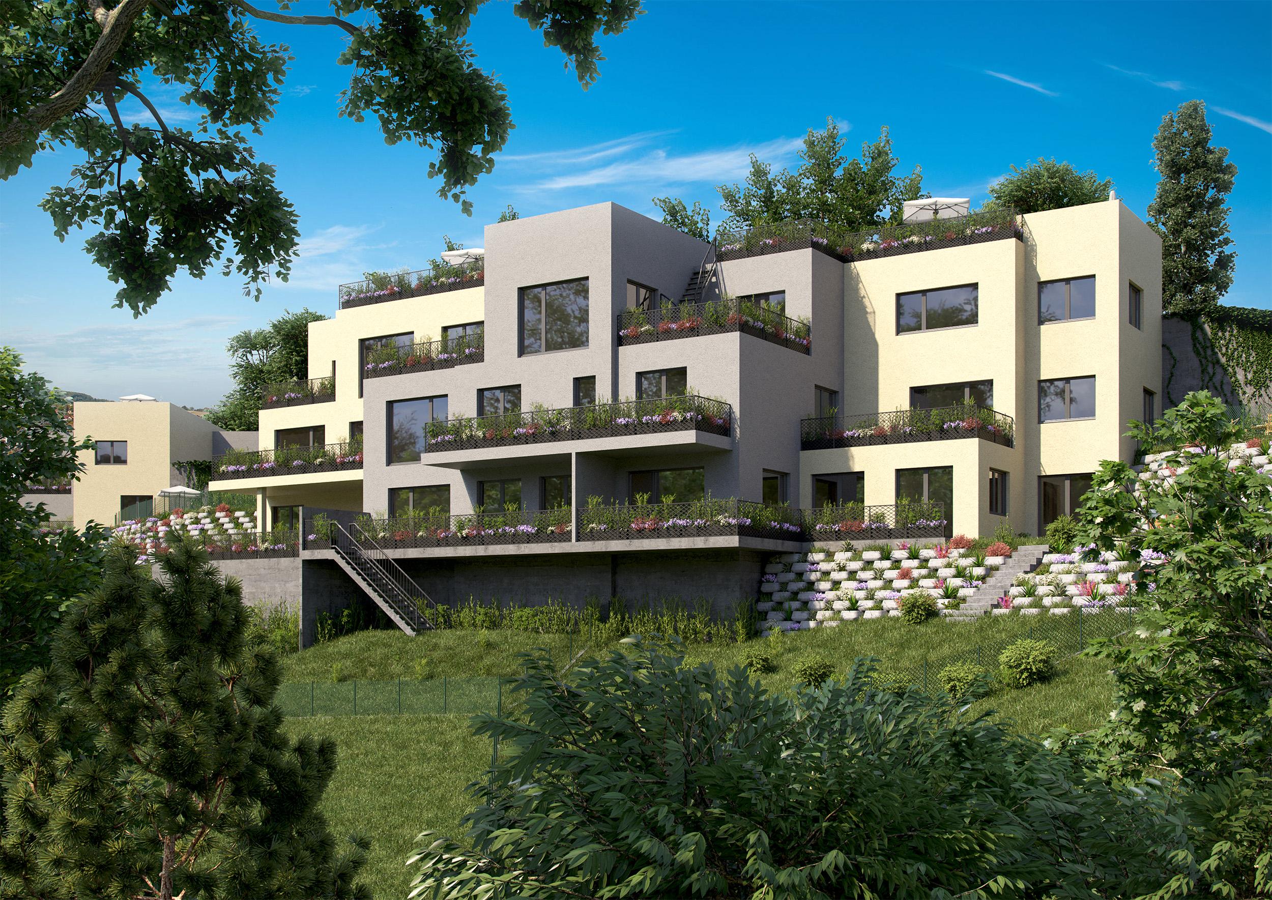vizualizace exteriéru bytový architekt