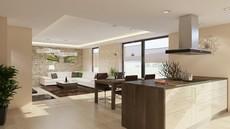 vizualizace prostoru bytový architekt